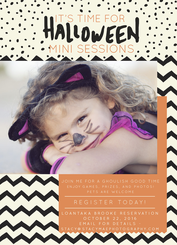 Halloween Mini Sessions - Stacy Mae Photography - NJ Family Photographer