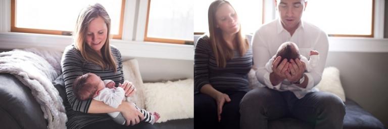 NJ newborn photographer I in home newborn session I lifestyle newborn session. www.stacymaephotography.com