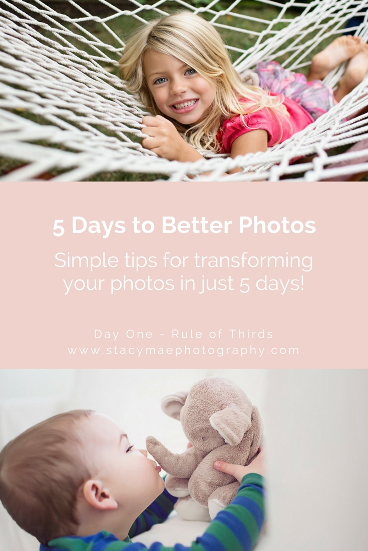 5 Days To Better Photos Rule Of Thirds Stacy Mae Photography